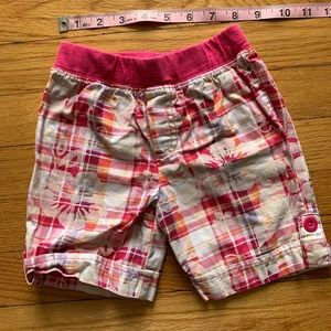 Daedryk Bottoms - Boys Plaid Hawaiian Shorts
